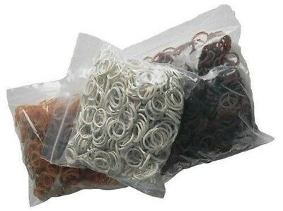 Roma Plait Aid Rubber Bands for Braiding Horses' Manes and Tails Bag of 500