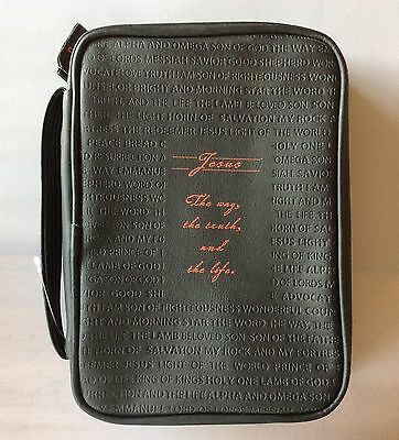 Dickson Book and Bible Case Black Leather Look, New - FAST SHIPPING