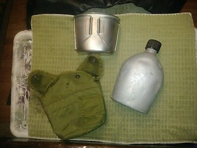 1945  W.W.2 A.G.M.Co. Wycott canteen,cup,and cover