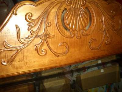 LARGE Heavy ETHAN ALLEN COUNTRY FRENCH Legacy CARVED Beveled MIRROR #13 5310 213