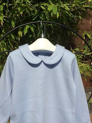 12 month so to 4 years Collar Top by Spanish Brand Babidu Grey