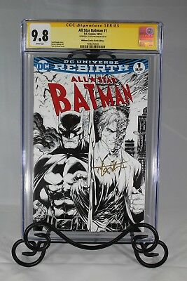 All Star Batman #1 Cgc 9.8 - Signed By Tyler Kirkham (Midtown Comic Exclusive)
