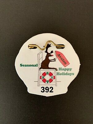 Limited 2019 Avalon Nj Holiday Beach Tag Good In Both Avalon & Stone Harbor 1207