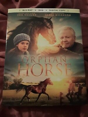 Orphan Horse (BLURAY/DVD) EXCELLENT, FREE SHIPPING, W/SLIPCASE, NO DIGITAL