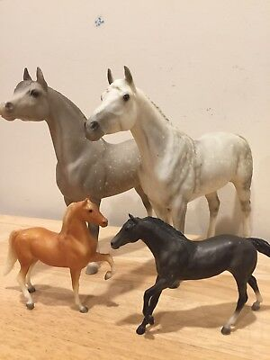 Vintage Breyer Molding Co Horses Traditional 12 x 9 Little Bits 6 x 4 Mold Model