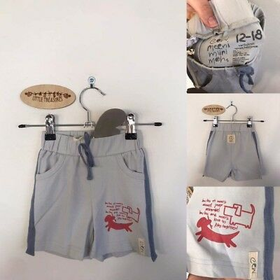 Sz 1 E3M pale blue shorts