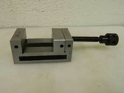 "Interstate Toolmaker's Vise 2-3/8"" Jaw Width 2-1/8"" Jaw Opening Cap 09287624"