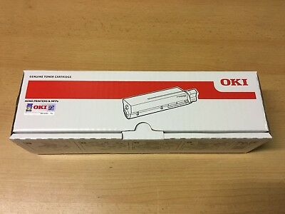 OKI B431/ MB461/ MB471/ MB491 - P/N 44574802 / Original Black Toner Cartridge