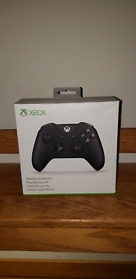 Xbox One Wireless Controller- Black (Brand New)
