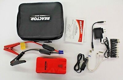 Reactor Lithium ION Multi-Function Automotive Booster/ Electronics Power Bank