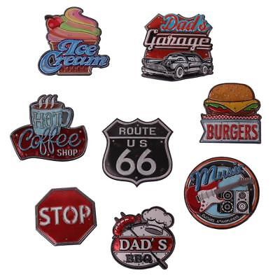 Country Vintage Retro Home Signs Led Light Wall Sticker Bar Pub Decor Sign small