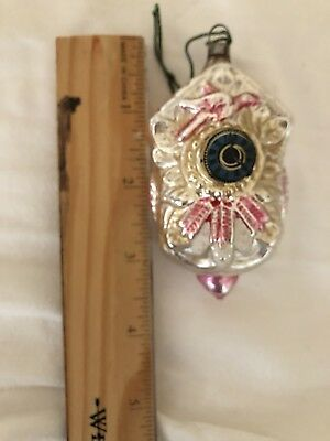 Antique Vintage Cuckoo Clock W Paper Dial German Figural Christmas Ornament