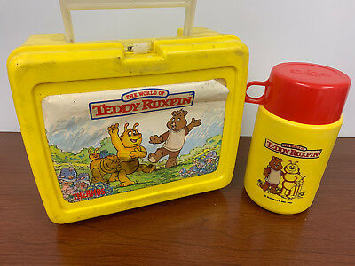 Teddy Ruxpin Lunchbox and Thermos 1985