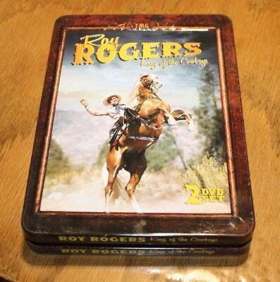 Roy Rogers King of the Cowboys 2 DVD in tin