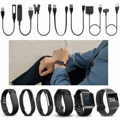 Various USB Charging Charger Cable for Fitbit Blaze /Flex/Force/Charge/HR/Versa