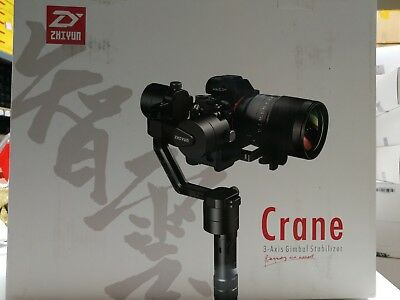 New Zhiyun Crane-V2 3-Axis Stabilizer Gimbal for DLSR