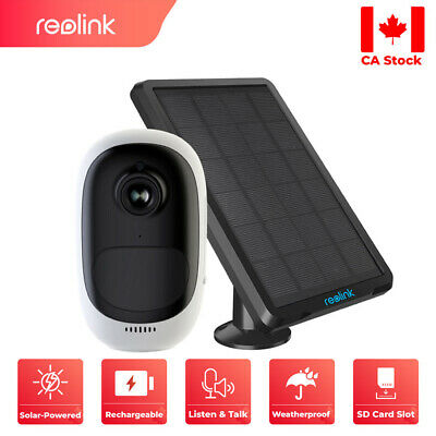 Wireless WIFI Security IP Camera Battery Powered Reolink Argus Pro + Solar Panel