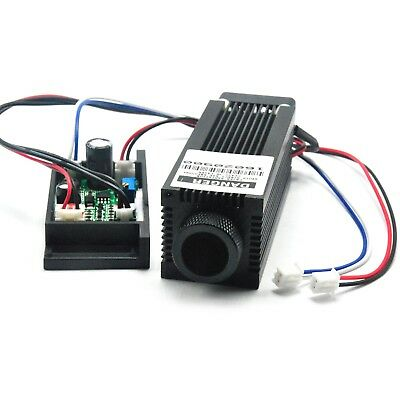 Focusable 808nm 500mW Infrared IR Laser Dot Diode Module 12V Driver TTL Fan Cool