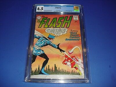 The Flash #117 CGC 6.5 w/ OW Pages 1960! 1st app Captain Boomerang DC Not CBCS