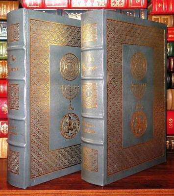 Michener, James A.  THE SOURCE Easton Press 1st Edition 1st Printing