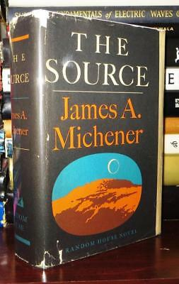 Michener, James A.  THE SOURCE 1st Edition 1st Printing