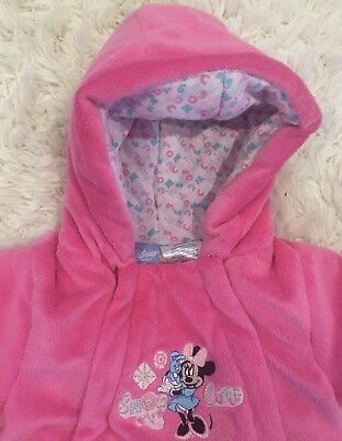 0f096b463a48 DISNEY PINK SNOW Suit Overalls Girls Size 2T -  12.00
