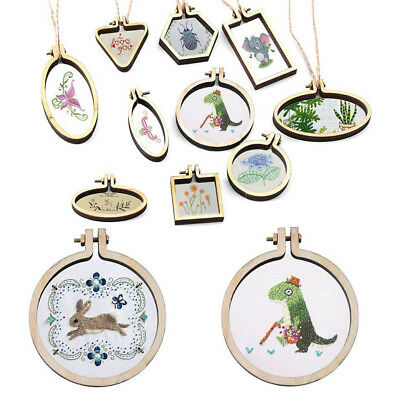 Pine Poplar Hand Embroidery Cross Stitch Ring Hoop Frames Top Quality UK Seller