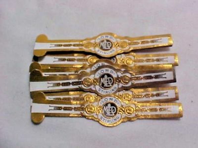 """Vintage Cigar Bands - LORD STIRLING 3 3/16"""" Qty of (25)"""
