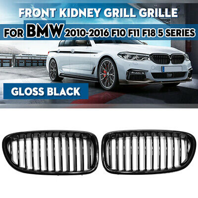 BMW 5 Series F10 F11 Painted Glossy durable Front Grille Grill Kidney M5 528i
