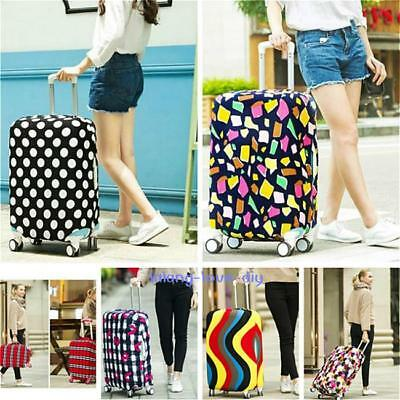 Travel Luggage Cover Protector Elastic Suitcase Dust-proof Scratch-resistant 8C