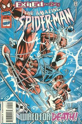 Amazing Spider-Man (1st Series) #405 1995 VF Stock Image