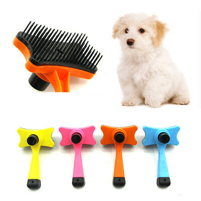 1PC Dog Fur Comb Pet Puppy Hair Remove Brush New Cat Hairs Grooming Trimmer Tool