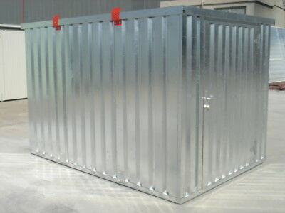 Storage Container 4m x 2.1m Collapsible, Flatpacked Store ,£1350.00+vat