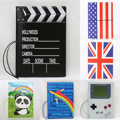 Creative Essential Identity Protector Cover National Flag Passport Holders nEW