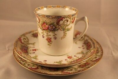 ANTIQUE HUDSON & MIDDLETON SUTHERLAND TRIO CUP SAUCER PLATE 1912c ART EARLY MARK