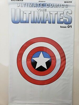 Ultimate Comics: The Ultimates #1 (2011) Marvel Comics White Polybagged Issue!