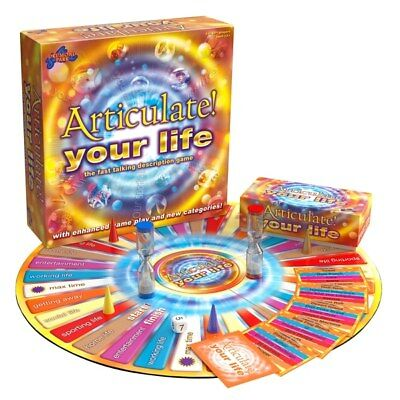 ARTICULATE Your Life Game Board Game DRUMMOND PARK Games Family / Children Fun