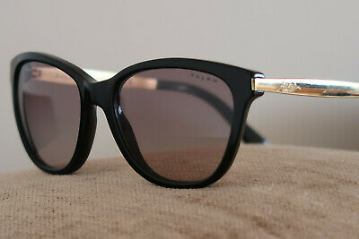 2fb1cc8a52 Ralph Lauren Sunglasses Ra5201 In Black   Gold A Holiday   Festival Classic  Nmcd