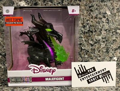 "New Jada Toys Disney ""Maleficent"" Metalfigs Hot Topic Exclusive Die-Cast Figure"