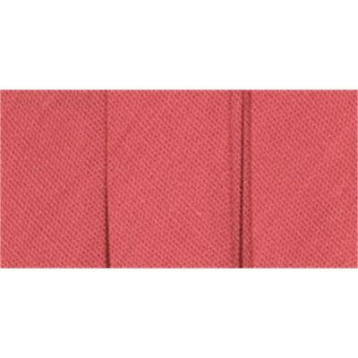 """Wrights Double Fold Bias Tape .5""""x3yd-paradise Pink"""