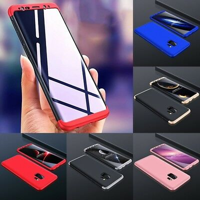 Hülle für Samsung Galaxy J3 J5 J7 C9 Plus Full Cover *360°Grad Handy Schutz Case