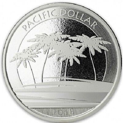 ILES FIDJI 1 Dollar Argent 1 Once Pacific Dollar 2018