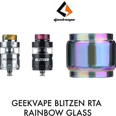 Rainbow Geekvape Blitzen Rta Glass Tube Replacement Fatboy Bubble