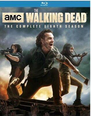 The Walking Dead Complete Eighth Season 8 on Blu-Ray New SEALED + New.