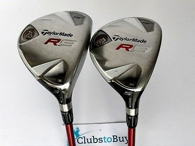TAYLORMADE R9 DRIVER, 3 wood, 5 wood set  Good used