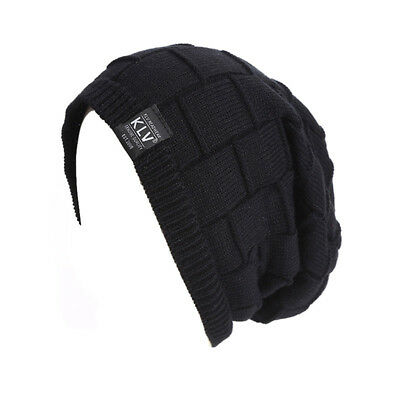 Warm Winter Fashion Unisex Oversized Cable Knit Baggy Beanie Slouch Hat Cap 8C