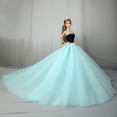Fashion Royalty Princess Dress/Clothes/Gown For Barbie Doll S560