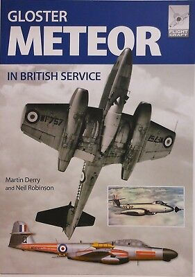 Pen & Sword Books - Flightcraft 13 - Gloster Meteor in British Service - New