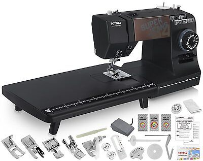 TOYOTA Super Jeans J34 Sewing Machine w/ Extension Table + FREE Shipping!