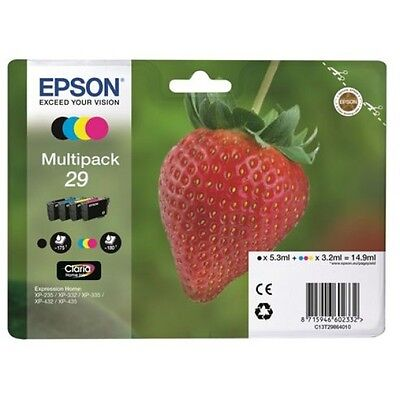 Genuine Epson T2986 29 Multipack Ink Cartridges for XP-332 XP-335 XP-342 XP-345